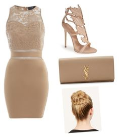 """Awards"" by ashola18 ❤ liked on Polyvore featuring AX Paris, Giuseppe Zanotti and Yves Saint Laurent"