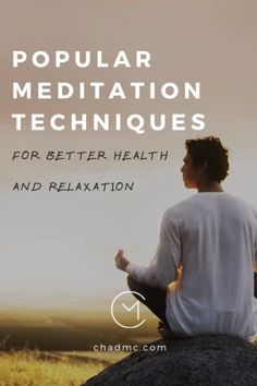 9 Popular Meditation Techniques for Better Health and Relaxation Kundalini Meditation, Meditation Benefits, Meditation Quotes, Daily Meditation, Meditation Practices, Yoga Quotes, Mindfulness Meditation, Relaxation Meditation, Meditation Space
