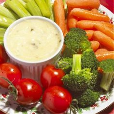 Want to get healthier this winter? Try subbing veggies for snacks!