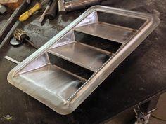 1969 Camaro Custom Hood Vent Fabrication