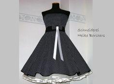 Petticoat Kleid  Konfirmationskleid  Doreen von Schneiderei Heike Borchers auf DaWanda.com