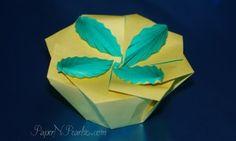 sandylandya@outlook.es  Origami Leaf Tato