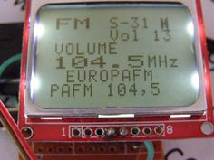 RDA5708 FM radio with Arduino
