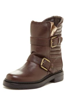 Dual Buckle Boot