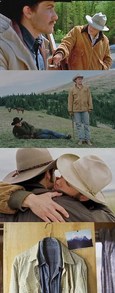 Brokeback Mountain. This was actually a good movie. Don't knock it til you try it!