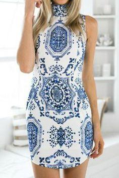 pretty open back dress