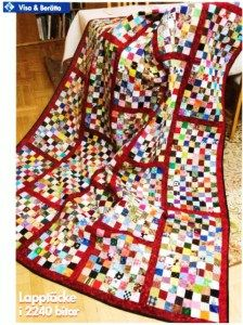 Nina T quilt as featured in Rikstäcket, Swedish quilting magazine (c) 16 Patch Quilt, Quilt Blocks, Postage Stamp Quilt, Postage Stamps, Scrappy Quilts, Baby Quilts, Patchwork Quilting, Quilting Projects, Quilting Designs