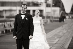 First look photo of bride and groom. Matt Kennedy - Portfolio Photo By www.mattkennedy.ca