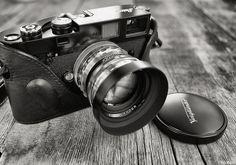 Chrome Voigtlander Nokton 50mm Lens by Rob McKay Photography on Flickr.