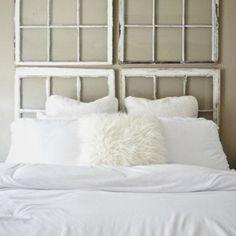 Une tête de lit symétrique