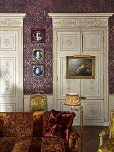 Pierre Bergé's apartment by Studio Peregalli