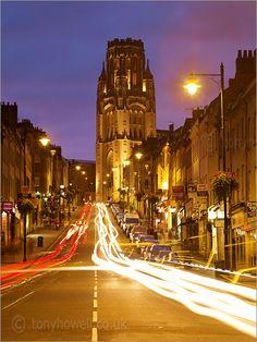 Bristol. Park Street at night