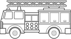 coloring sheet is no ordinary truck. It is called fire-engine. A fire ...