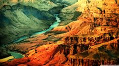 Grand Canyon HD desktop wallpaper High Definition Fullscreen