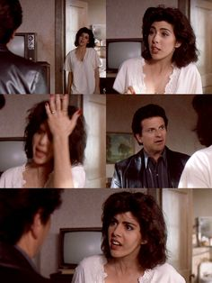 """Love this scene from My Cousin Vinny! """"So I asks ya...would you give a shit what pants the son of a bitch that shot ya was wearing!"""