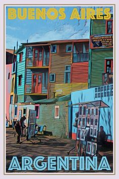 Colors – buenos aires - New Site Poster Festival, Illustrations Vintage, Illustrations Posters, Poster Retro, Personalized Posters, Online Posters, Vintage Hawaii, Photos Voyages, Beach Trip