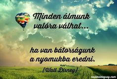 disney idézet Beautiful Places To Travel, Walt Disney, Travel Around The World, Einstein, Fairy Tales, Life Quotes, Spirituality, Vans, Lettering