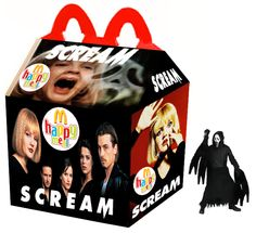 Pink Slime Is the Last Thing You Need to Worry About in These 'What If' McDonald's Horror Happy Meals Horror Movie Characters, Cult Movies, Scary Movies, Horror Movies, Ghost Movies, Funny Horror, Halloween Horror, Spirit Halloween, Halloween Toys