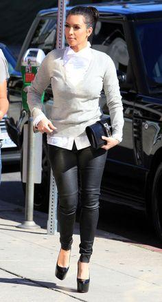 Kim Kardashian - Kim Kardashian Shopping At Diavolina In West Hollywood