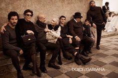 Dolce Menswear Fall 2012 Ad Campaign | Tom & Lorenzo