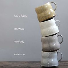 Studio KotoKoto | Mamma Bear Cups by Birdie Boone