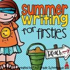 Summer Writing for Firsties. Filled with writing activities with a summer season theme. End of year, summer homework, summer school. Writing Practice, Teaching Writing, Writing Activities, Teaching Ideas, Summer School, School Fun, Summer Fun, School Stuff, School Ideas