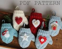 Image result for how to make christmas ornaments out of a sweater