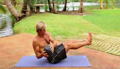Big wave surfer Laird Hamilton's 8-move core workout.