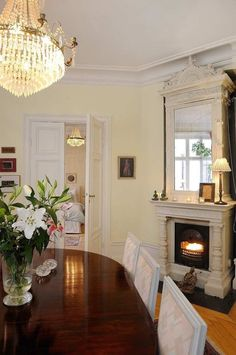 Fireplace in the dining room Dining Room Fireplace, Hearth, Future House, Sweet Home, House Design, Archive, Design Ideas, Peace, Home Decor