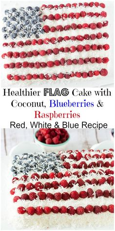 Perfect for Memorial Day or July 4th - white velvet cake with whipped cream Greek yogurt cream cheese frosting