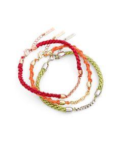 The Fruit Punch Bracelets  by Jewelmint.com $29.99
