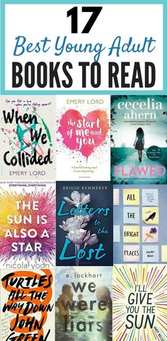 17 Best Young Adult Books You Need To Read | Young adult books to read 2018. Exciting, thrilling, romance, mystery and amazing fiction books that you'll be hooked on and fascinated with and won't be able to put down. Brilliant page turners for fiction lovers! #books #reading #ya #youngadult #youngadultbooks #novels