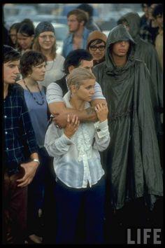 U.S. Woodstock music festival, 1969