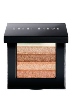 Bobbi Brown 'Apricot Shimmer' Brick Compact: VERY versatile: can be used as an eye shadow as well.