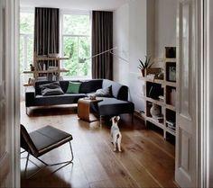 Sofa: Tune / Coffee-table: the U / Cupboard: Kwart