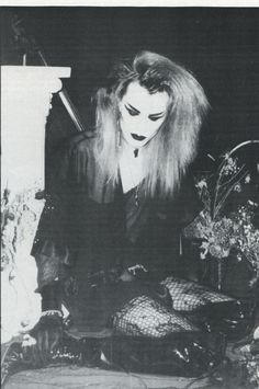 Sean Brennan of London After Midnight Ghastly Magazine, issue 2 1992                                                                                                                                                                                 More