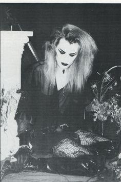 Sean Brennan of London After Midnight Ghastly Magazine, issue 2 1992