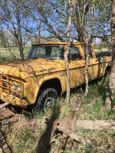 "jacdurac: "" What a find! This Dodge Power Wagon was on an old farm. Old Dodge Trucks, Vintage Pickup Trucks, Classic Pickup Trucks, Dodge Pickup, Old Pickup, Antique Trucks, Customised Trucks, Dodge Power Wagon, Abandoned Cars"