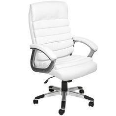 Chaise de Bureau, Fauteuil de Bureau STANDING - Ergonomique blanc