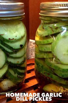 Homemade Garlic Dill Pickles… – You Betcha Can Make This!