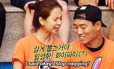 Running Man ep159 Monday Couple Ji Hyo and Gary