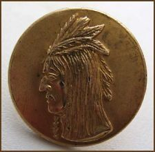 images of antiques | Nice ~OLD~ Antique Vintage 1pc Brass Picture Button...Native American ...