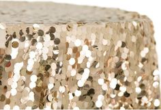 Find the best prices on wholesale wedding tablecloths at CV Linens. Try our Large Payette Sequin Tablecloth Round on your tables for a glamorous look! Sequin Tablecloth, Wholesale Tablecloths, Chair Back Covers, Table Overlays, Wedding Decorations On A Budget, Wedding Linens, Linen Napkins, Table Linens