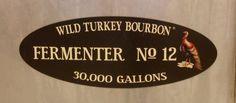 Fermenter No. Wild Turkey Bourbon, Distillery, Kentucky, Whiskey, Whisky
