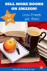 3 easy ways to cross-promote your book on amazon #bookmarketing #tips #Amazon #authors #amwriting