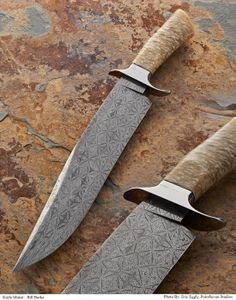 The world's top knives were recognized during the Atlanta Blade Show, June 6 -8, 2014 in Atlanta. Master Smith Bill Burke was honored with a Custom Knife Judging Award for Best Bowie Knife.