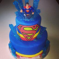 Superhero Birthday Party, 5th Birthday, Birthday Cakes, Cake Pops, Superman Cakes, Cupcakes, Diva, Favors, Creations