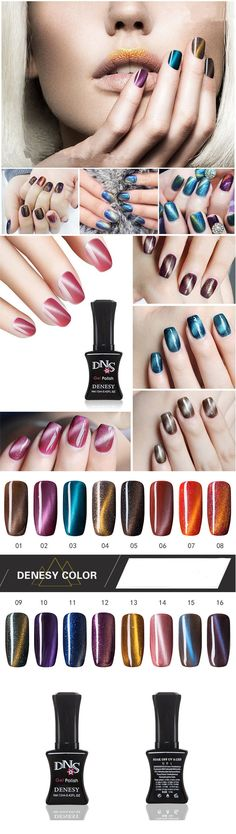 NC 3rd Anniversary!!! Selected and Recommended Products~ [16 Colors Cat Eye UV Gel Polish Varnish Nail Art Long Lasting 12ml]