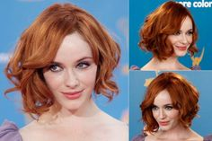 Christina Hendricks - Best, celebrity, bobs, bob, bobbed, hair, hairstyles, haircut, inspiration, celebs, beauty, Marie Claire
