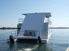 Copyright © 2019 Amphibia Engineering Pty Ltd T/as Havana Houseboats, Gold Coast, QLD 4216 Floating Boat, Floating House, Floating Architecture, Water House, Boat Stuff, Gold Coast, Tiny House, Havana, Building